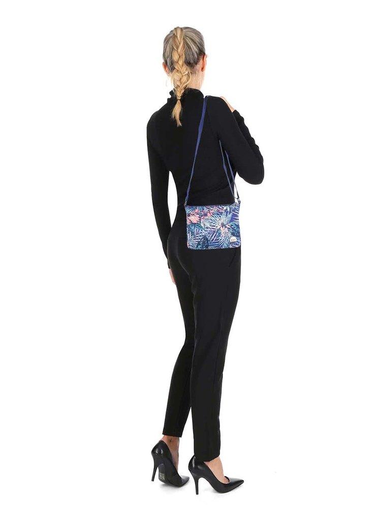 Geantă albastră Roxy Sunday cu model