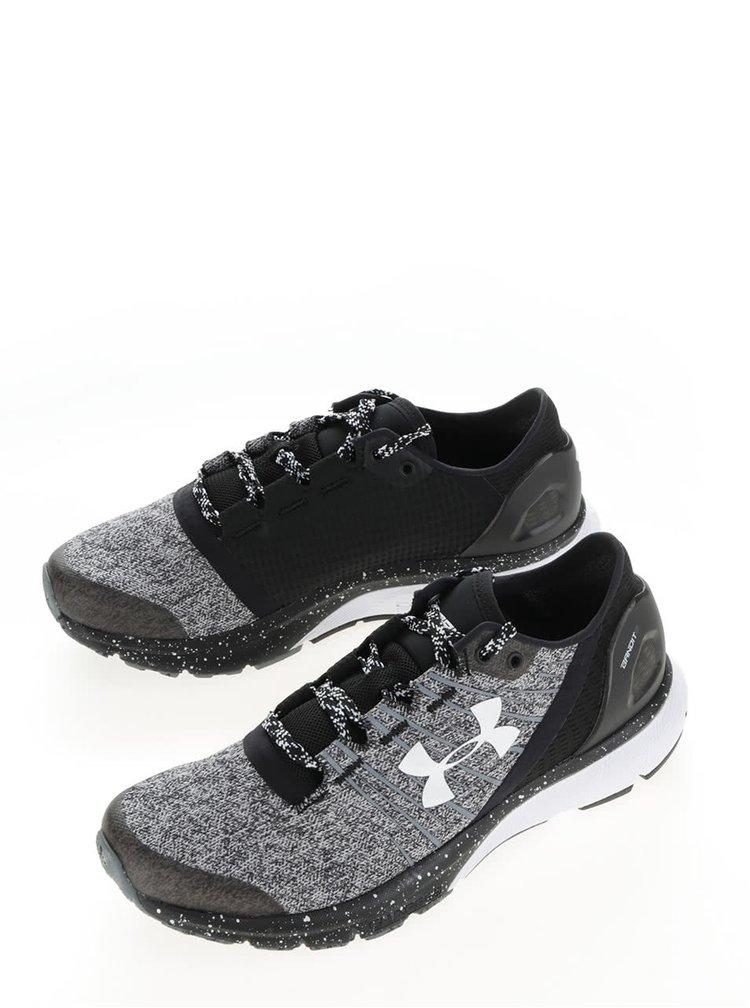 Pantofi sport alb & gri Under Armour UA W Charged Bandit 2 pentru femei