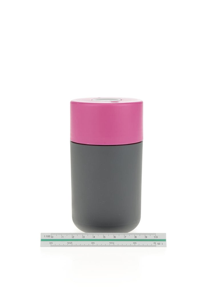 Termos gri inchis&roz Frank Green SmartCup 340 ml
