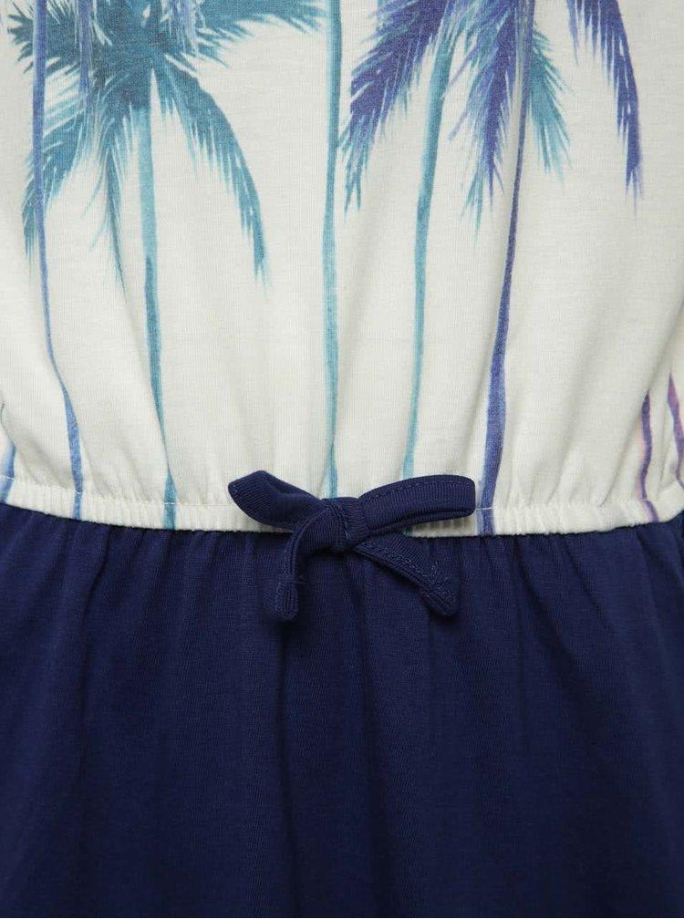 Rochie crem cu albastru Roxy Presidiopalm