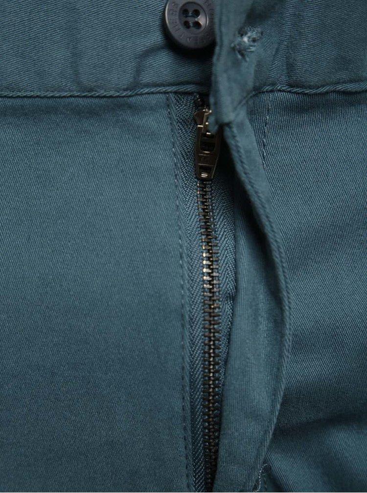 Šedomodré pánské chino kalhoty Horsefeathers Ritchie