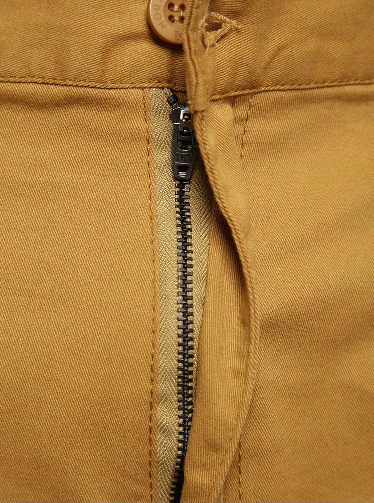 Hnědé pánské chino kalhoty Horsefeathers Ritchie