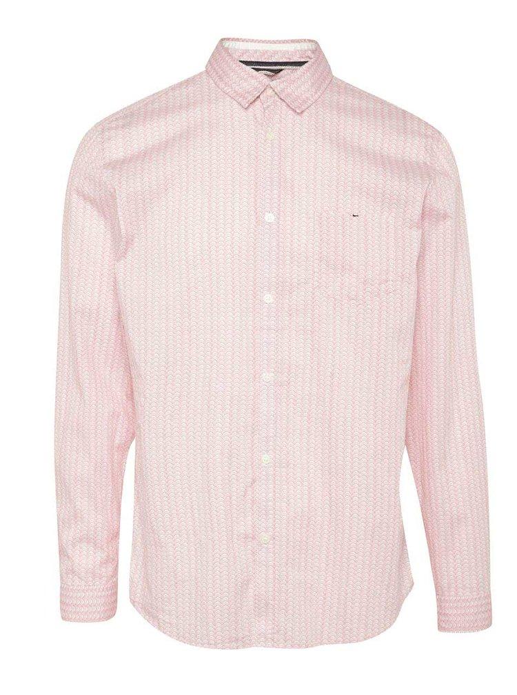 Bílo-červená vzorovaná košile Selected Homme Aro