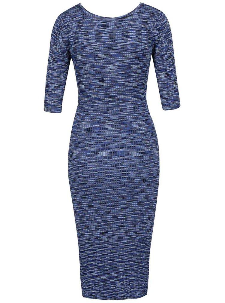 Rochie albastră Apricot cu model
