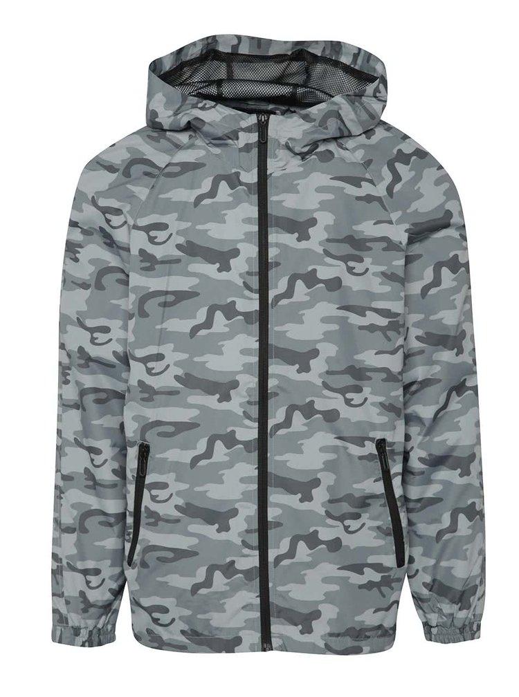 Jachetă subțire camuflaj ONLY & SONS Normex