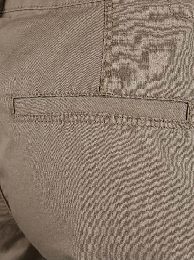 Pantaloni chino bej VERO MODA Boni din bumbac