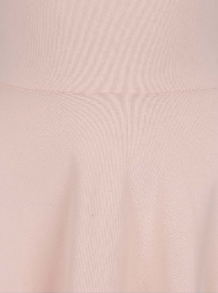 Rochie roz pudrat TALLY WEiJL cu detalii încrucișate