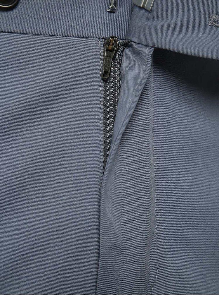 Pantaloni albastru deschis Selected Homme slim fit Abone-Cotton
