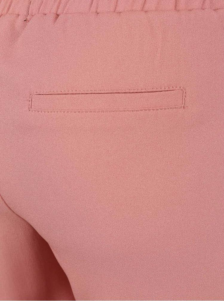 Světle růžové kalhoty s kapsami TALLY WEiJL