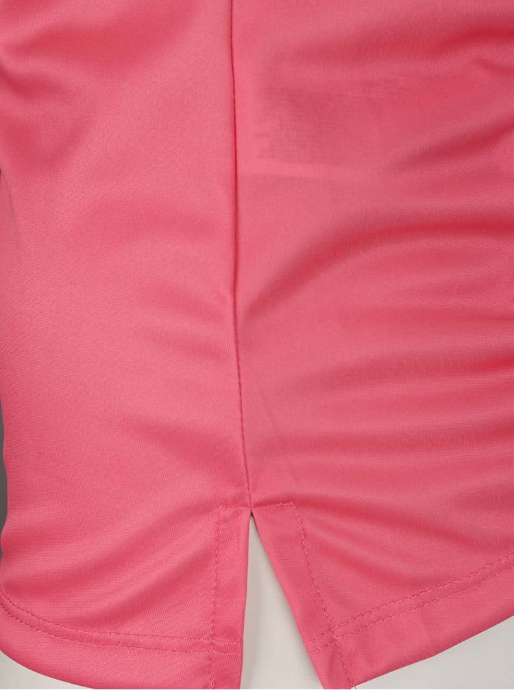 Maiou roz Desigual Sport cu model