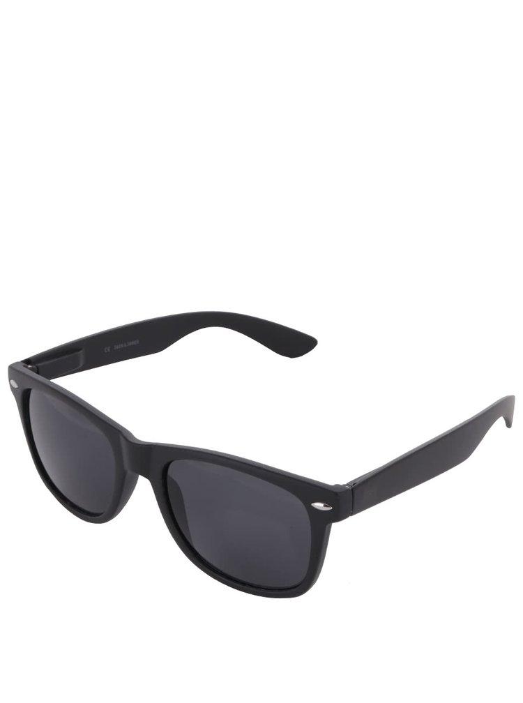 Čierne slnečné okuliare Jack & Jones Leo