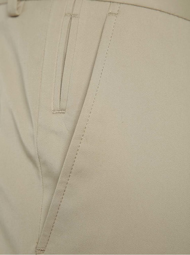 Pantaloni bej Selected Homme Abone-Cotton