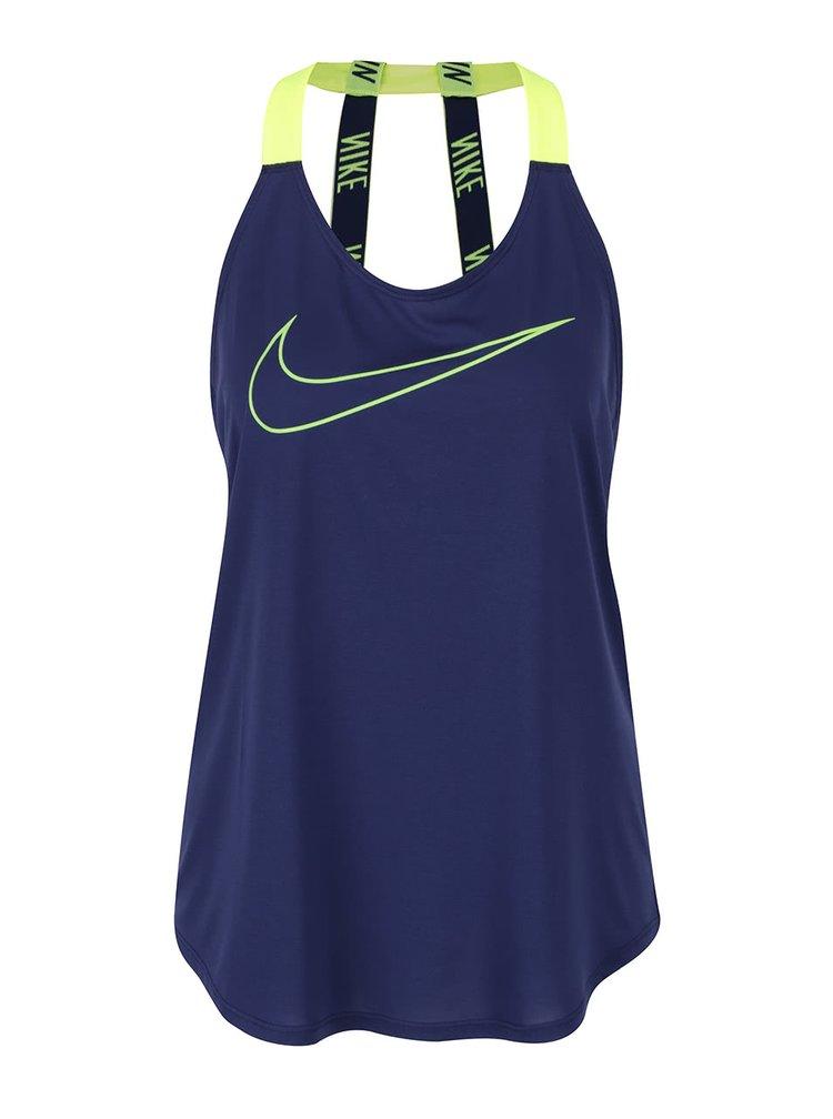 Top albastru inchis Nike