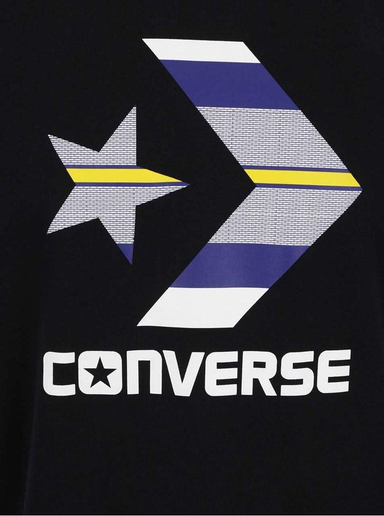 Tricou negru Converse Star Chevron