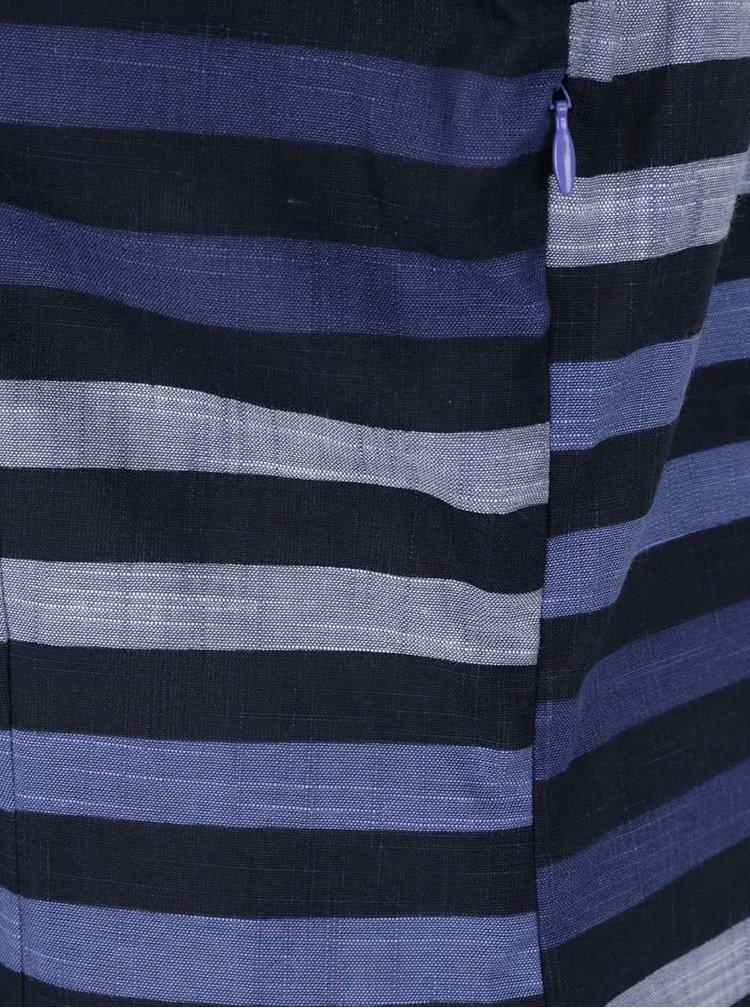 Rochie albastră Skunkfunk cu model
