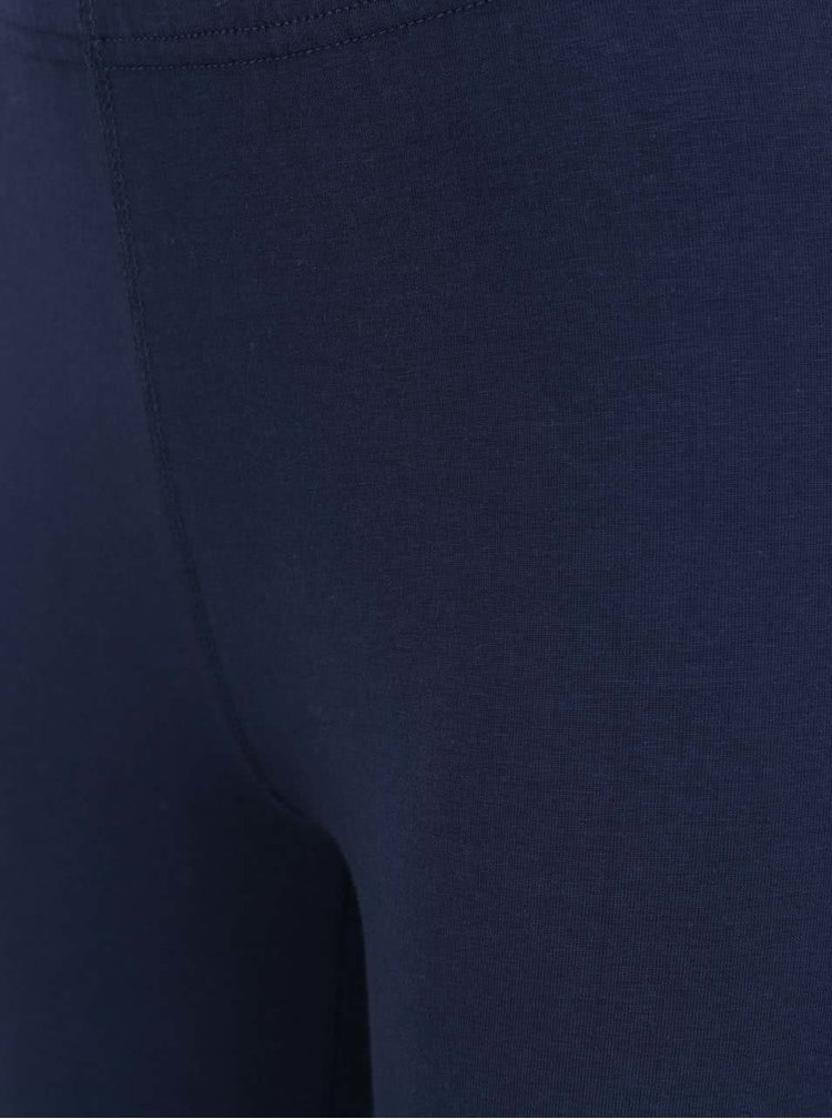 Tmavě modré legíny s potiskem Converse Core