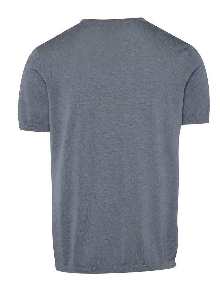 Tricou albastru Selected Homme AB din bumbac