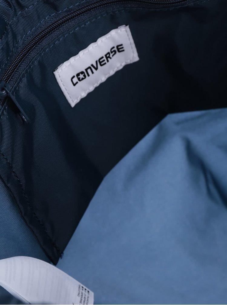 Tmavě modrý unisex vak s nášivkou Converse Cinch