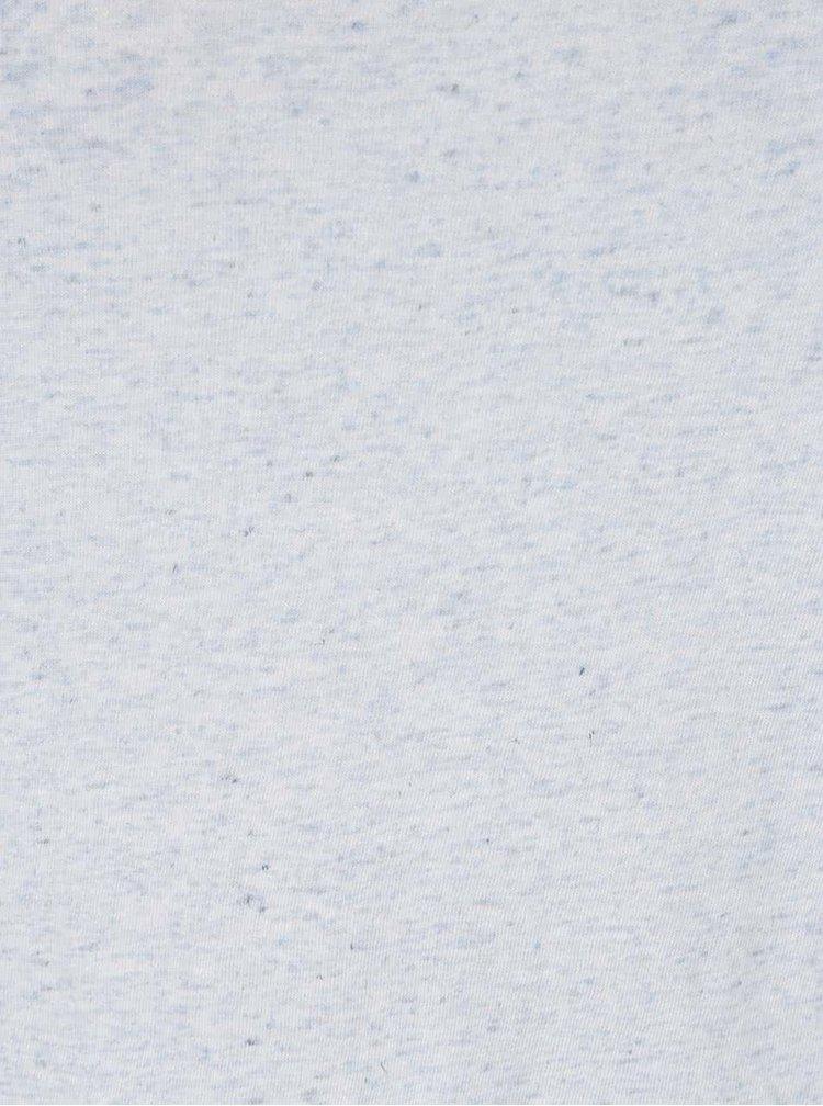 Tricou albastru deschis melanj Jacqueline de Yong Linette