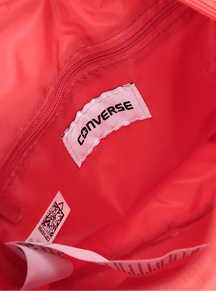 Červená unisex crossbody taška Converse Poly