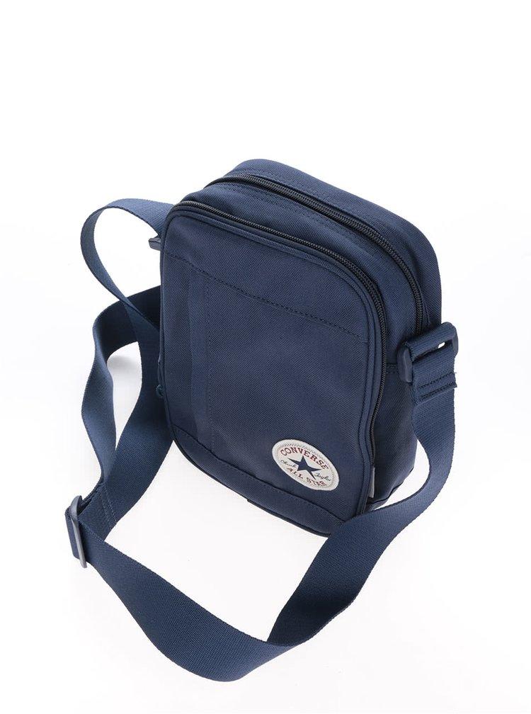 Tmavě modrá unisex crossbody taška Converse Poly