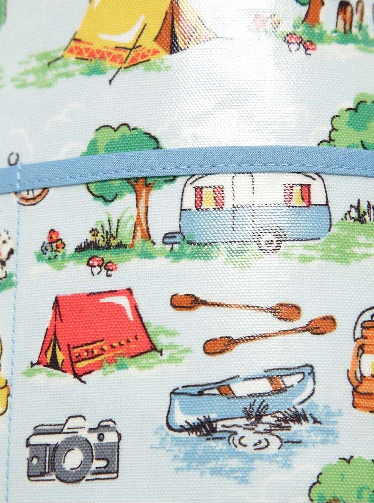 Modrá klučičí zástěra s prázdninovým motivem Cath Kidston