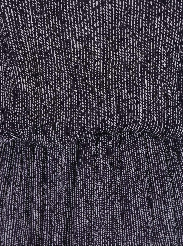 Rochie albastru melanj Skunkfunk cu elastic