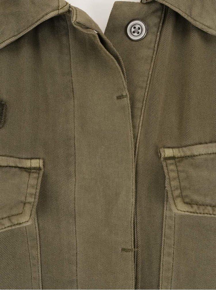 Jachetă kaki VERO MODA Ambre