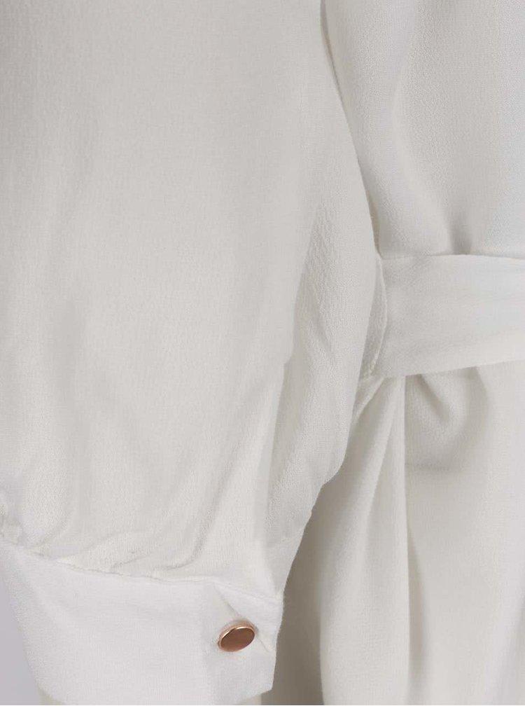 Krémová halenka s tříčtvrtečními rukávy VERO MODA Michelle