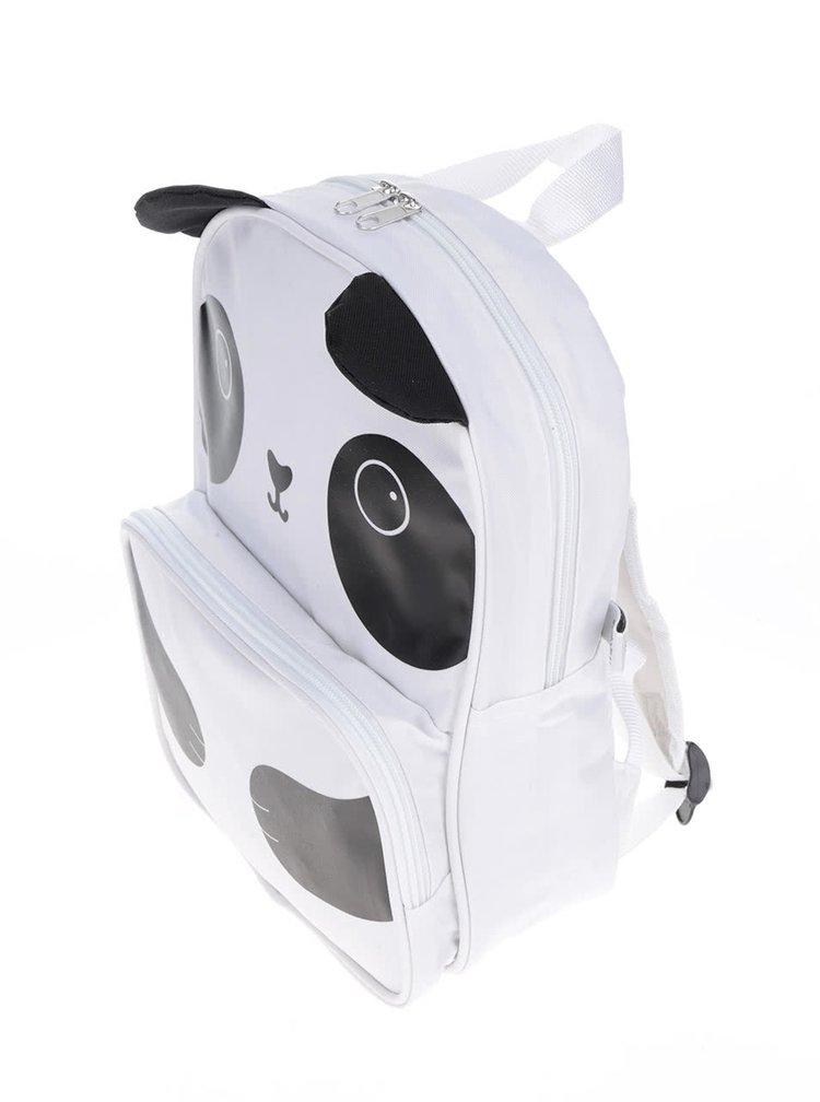 Černo-bílý batoh s motivem pandy Sass & Belle