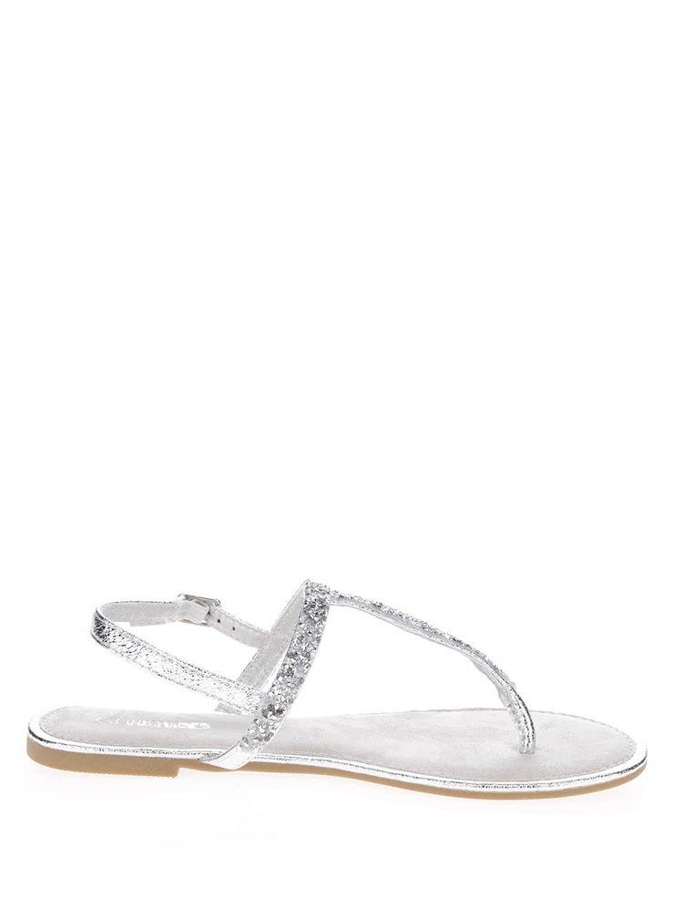 Sandály ve stříbrné barvě Haily´s Molly