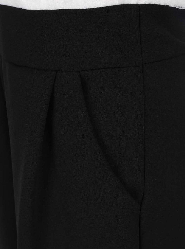 Salopeta alb & negru Haily´s Alpin cu detaliu din dantela