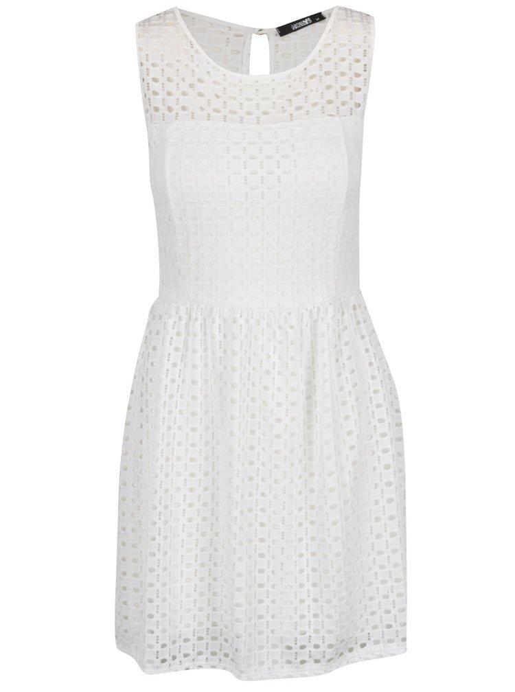 Krémové krajkové šaty Haily´s Melly