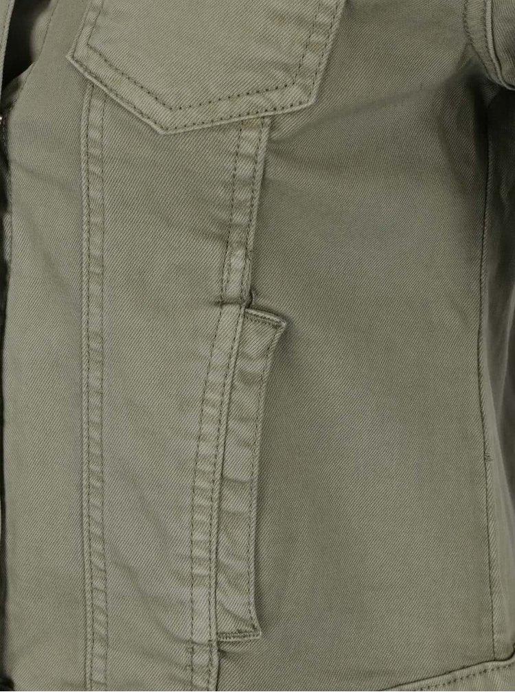 Khaki džínová bunda Haily's Enny
