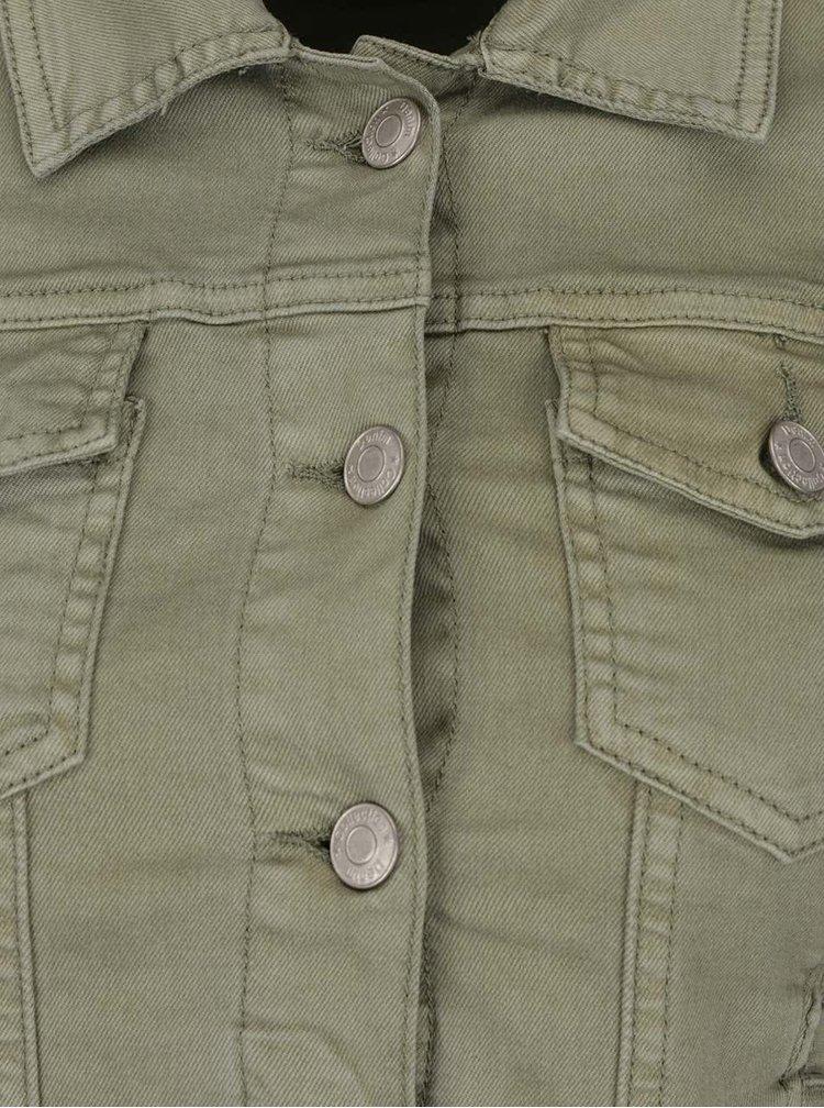 Jachetă kaki Haily's Enny din denim