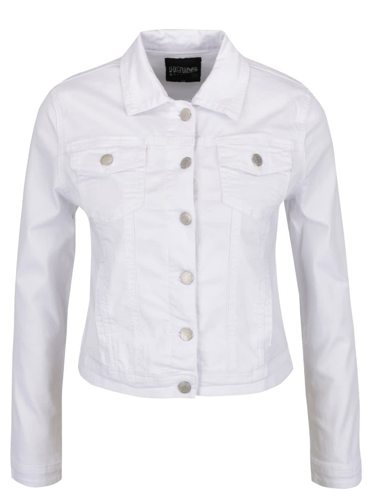 Jachetă albă Haily's Enny din denim