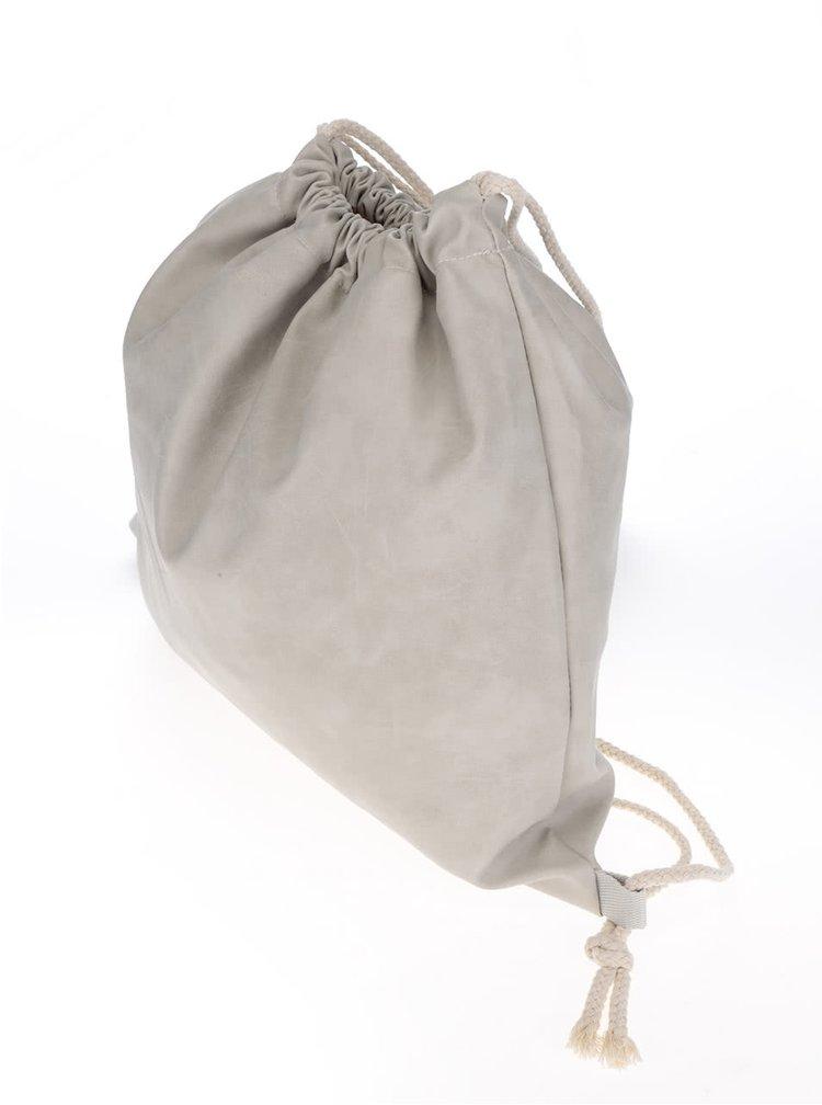 Rucsac gri deschis Haily's Bag Velours