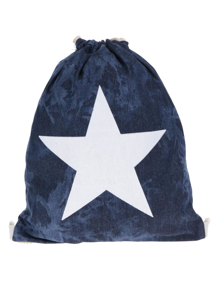 Tmavě modrý vak s potiskem hvězdy Haily's Bag Star