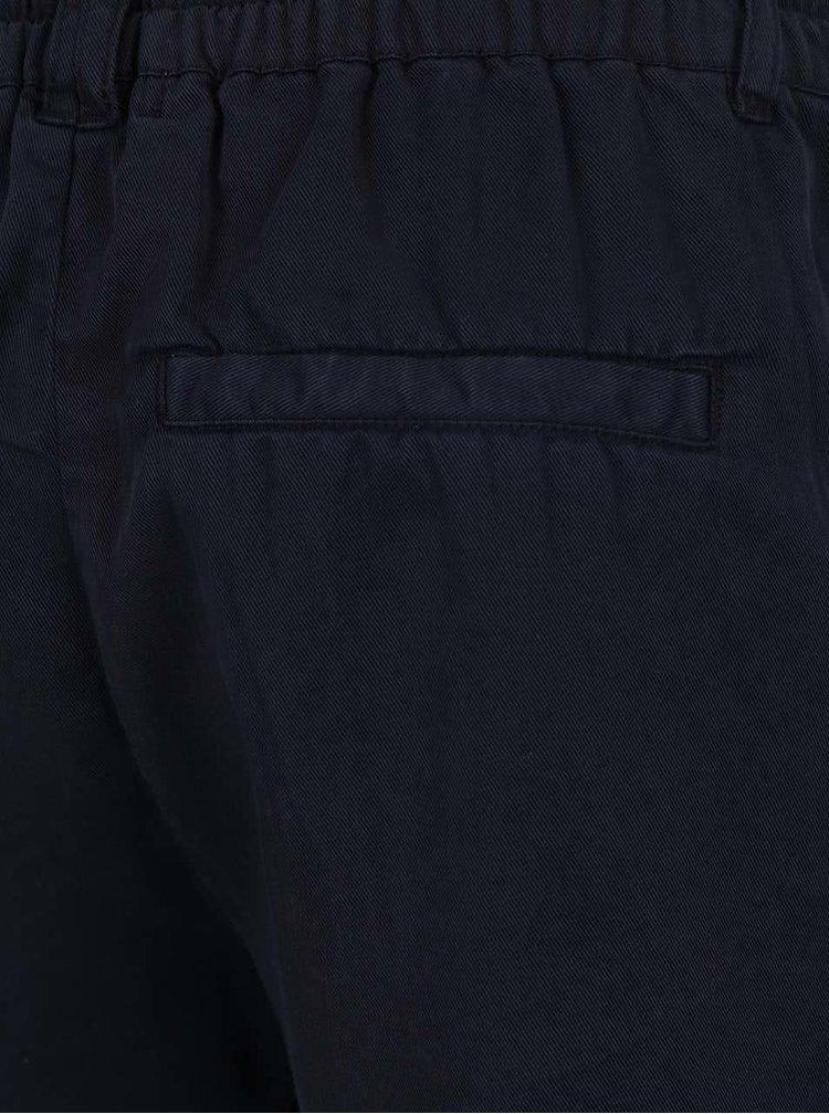 Tmavě modré kraťasy s kapsami ONLY Poptrash