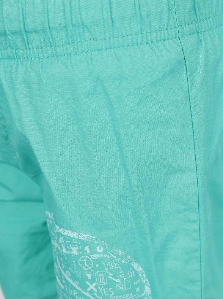 Zelené klučičí plavky s potiskem name it Zak