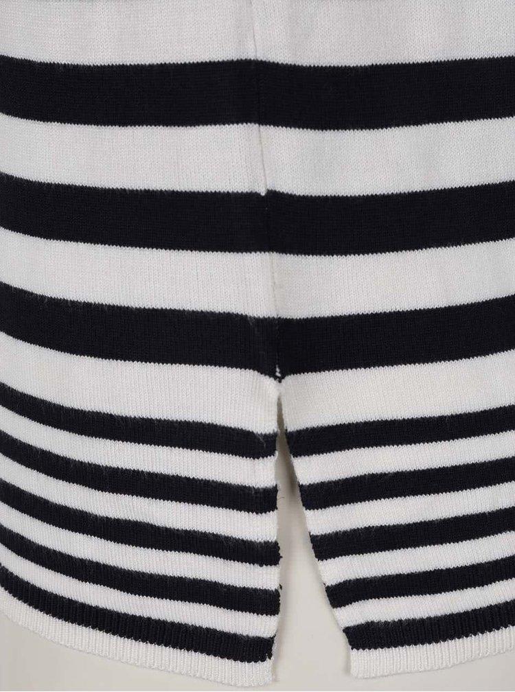 Tricou alb&bleumarin ONLY Mila