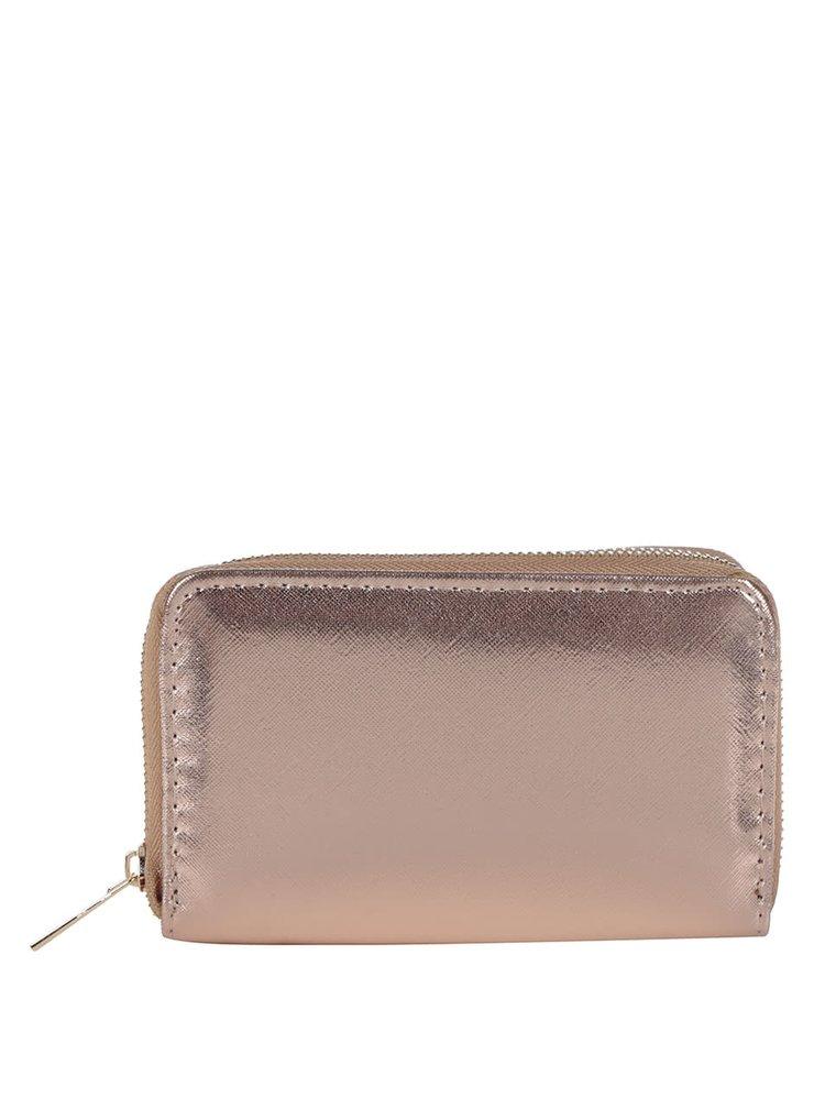Peněženka v růžovozlaté barvě Haily's Sina