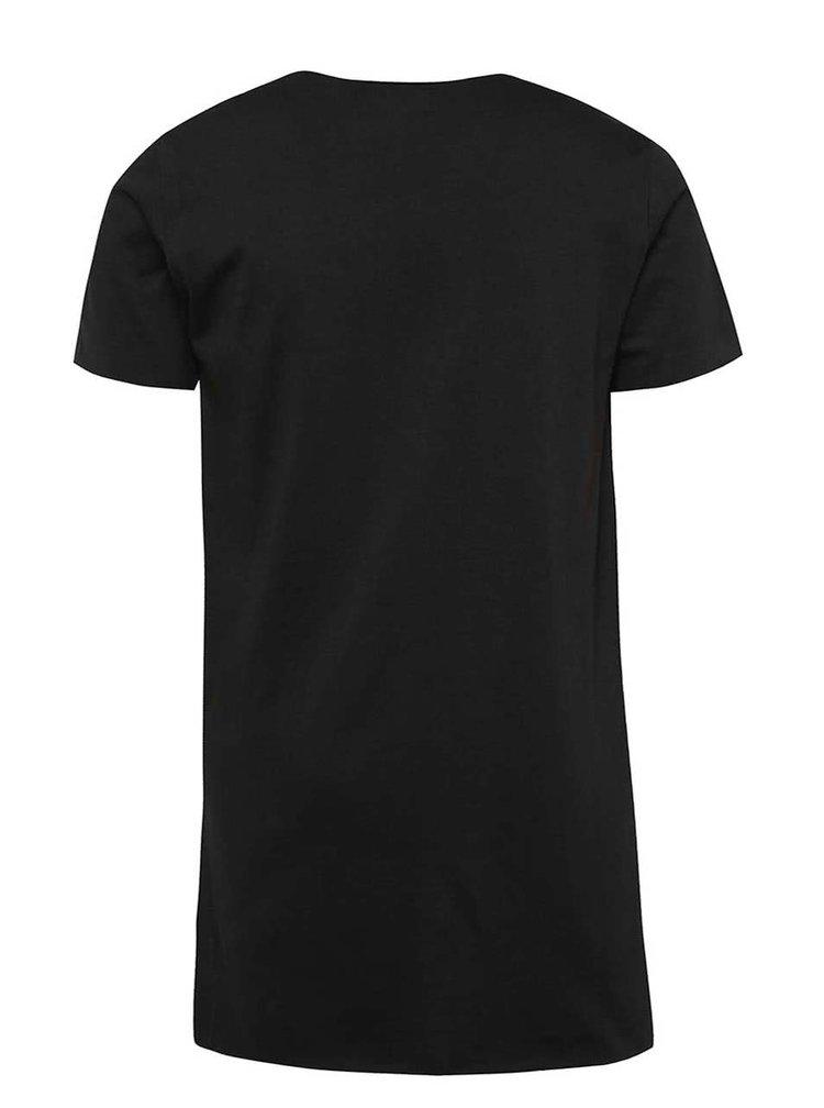 Černé klučičí tričko s potiskem Blue Seven Music