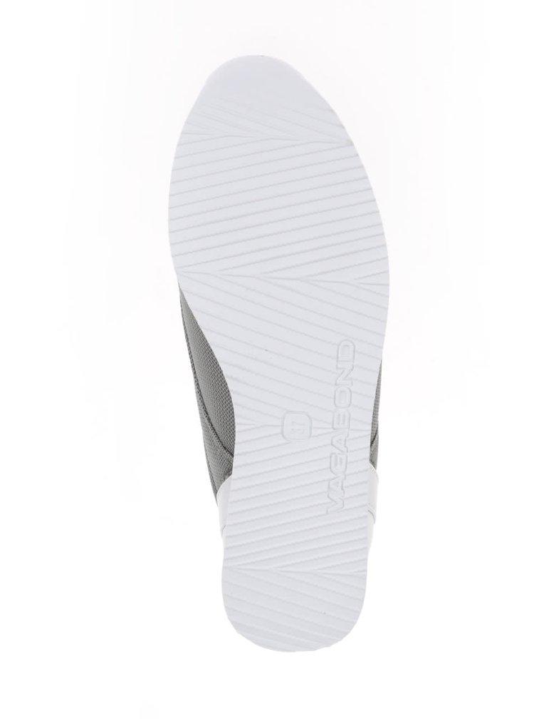Bílo-zelené dámské tenisky Vagabond Kasai