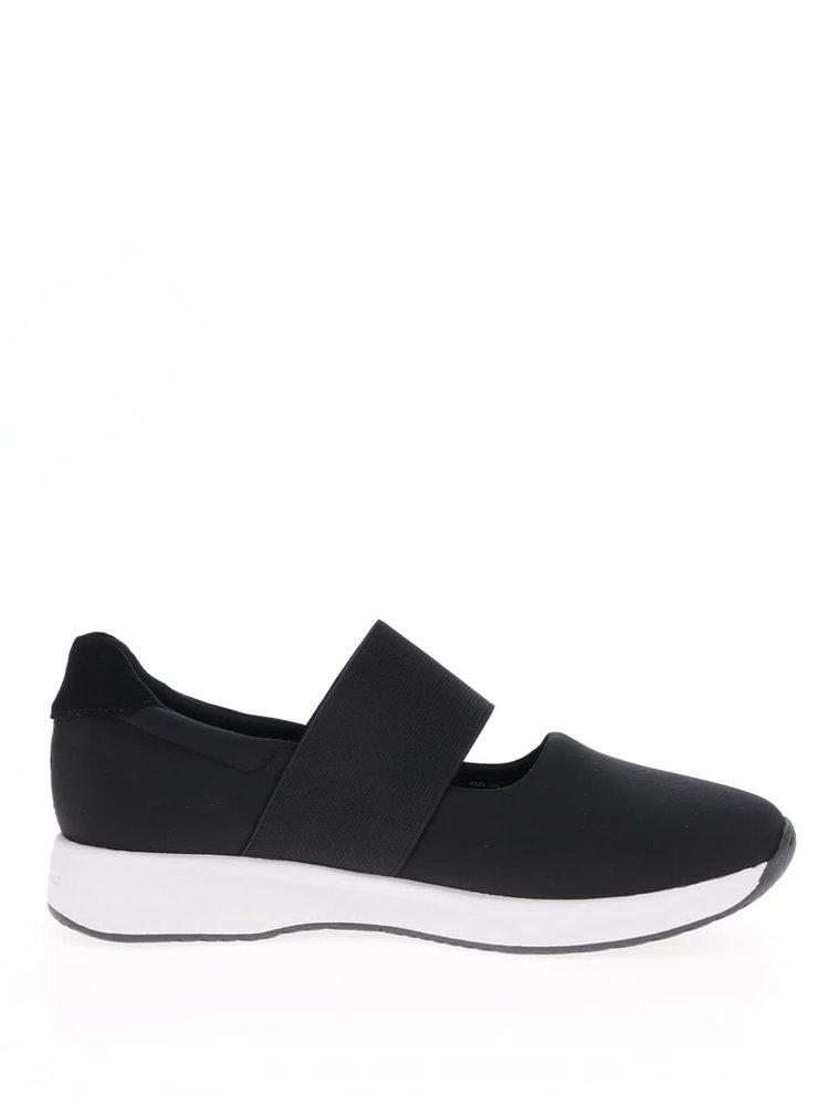 Pantofi sport alb cu negru Vagabond Cintia cu elastic