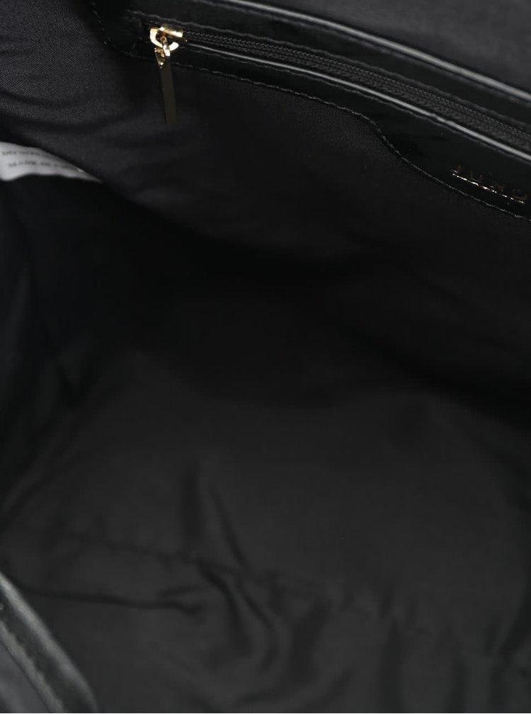 Geanta neagra crossbody cu manere Juno