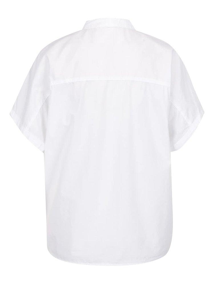 Bílá volná košile s výšivkami ONLY Mava