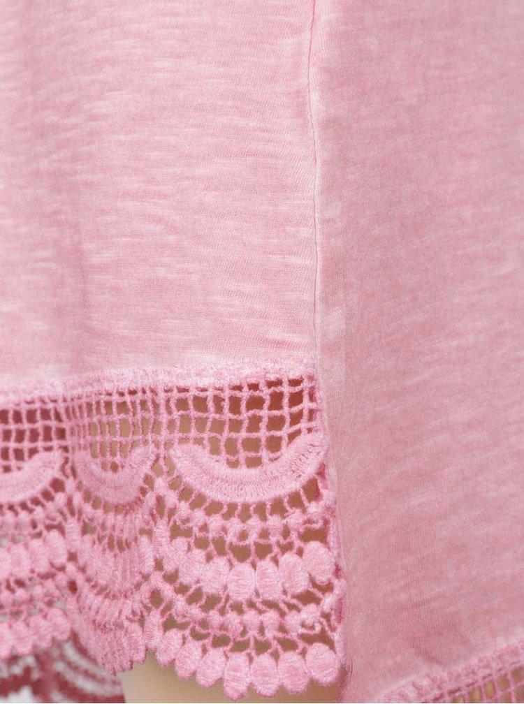 Rochie roz cu print Blue Seven pentru fete