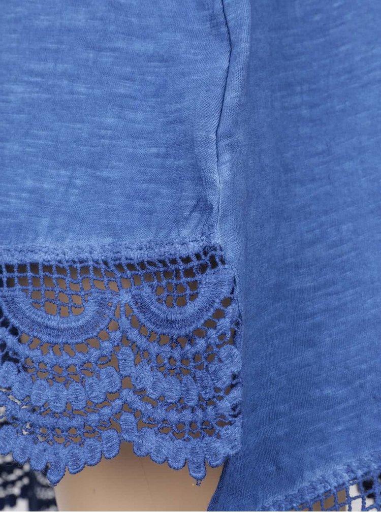 Rochie albastră cu print Blue Seven pentru fete