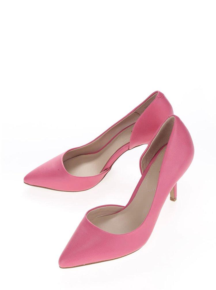 Pantofi roz ALDO Ecidia cu decupaj lateral